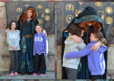 Meeting Merida—Magic Kingdom