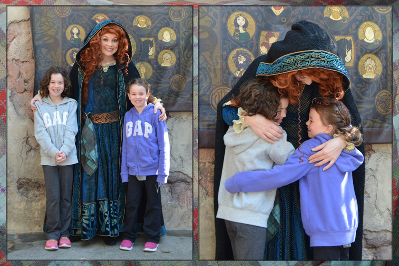 Merida at Magic Kingdom