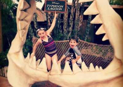 Shark Bite at Typhoon Lagoon