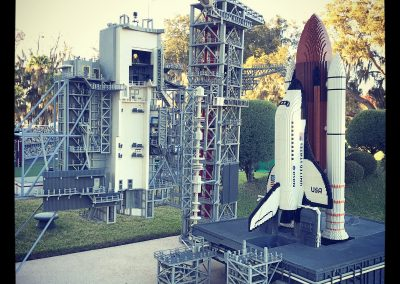 Lego rocket ship
